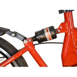 Elektrofaltrad OVERFLY M7 Rot